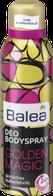 Дезодорант для тела  Золотая магия  Balea Deo+Bodyspray Golden Magic 200 мл