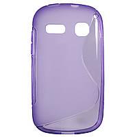Чехол S-Line для Alcatel OneTouch POP C3 4033D / 4033X Violet