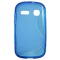 Чехол S-Line для Alcatel OneTouch POP C3 4033D / 4033X Blue
