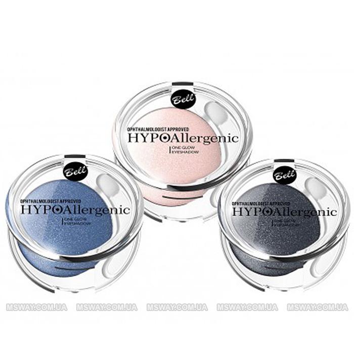 Bell HypoAllergenic - Тени для век сверкающие 1-цв. One Glow EyeShadow (гипоаллергенные) 5г