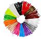 Набір PLA пластику для 3Д ручки 5 кольорів по 10 м, фото 2