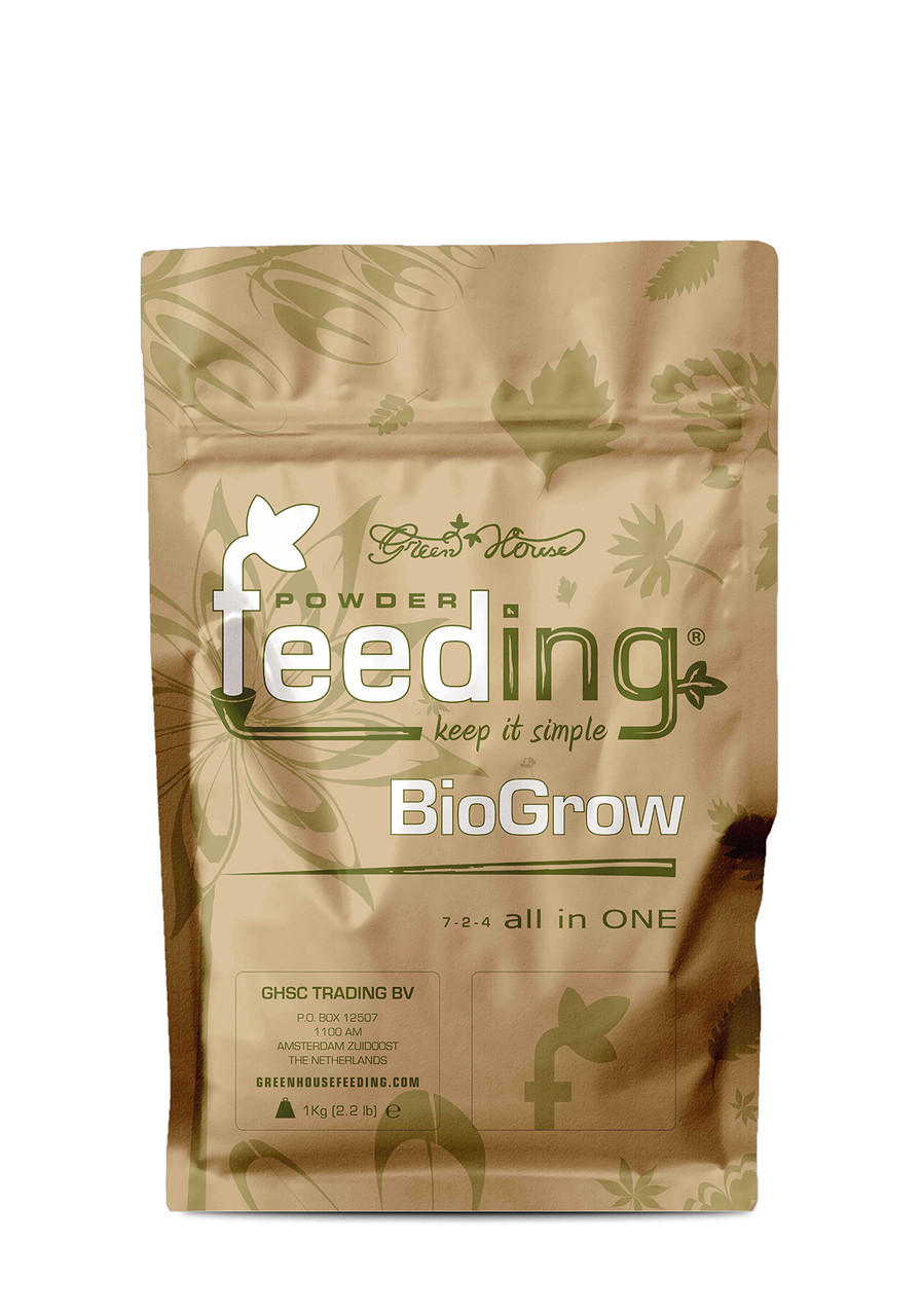 Органо-минеральное удобрение Powder Feeding Bio Grow 500гр