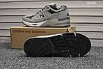 Мужские кроссовки New Balance 991 (серые) KS 1207, фото 4
