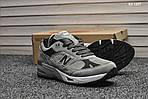 Мужские кроссовки New Balance 991 (серые) KS 1207, фото 5
