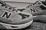 Мужские кроссовки New Balance 991 (серые) KS 1207, фото 6