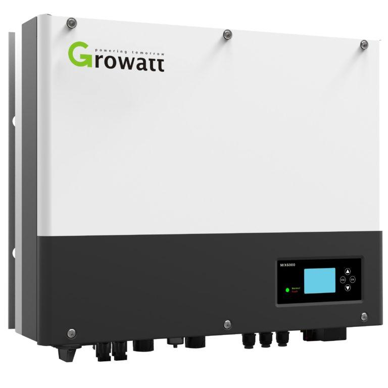 Гібридний інвертор Growatt SPH5000