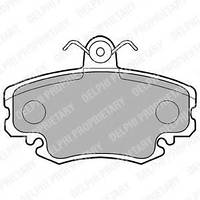 Тормозные колодки передние (комплект) DELPHI, LP885 6001547911; 7701208265