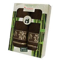 Набор из 2-х БАМБУКОВЫХ полотенец в подарочной коробке ТМ Deco Home Турция