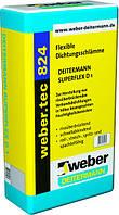 Weber.tec 824 (Superflex D1) - однокомпонентный гидроизоляционный раствор