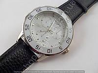 Часы Certina 1888 мужские серебристые на белом циферблате