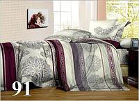 Полуторное постельное белье ткань бязь Gold