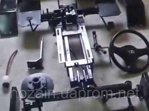 Рама мототрактора Силач