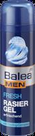 Гель для бритья  Свежесть и Прохлада с экстрактом миндаля Balea Men Fresh Rasier Gel 200 мл