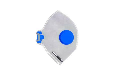 Маска-респиратор Vita - неон-1К FFP-1D синий, фото 2