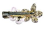 """Зажим для волосся """"метелик+квітка"""", фото 4"""