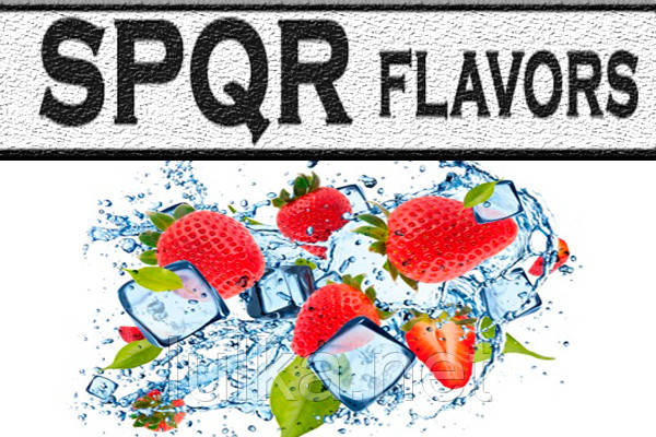 Ароматизатор SPQR Strawberry Ice (полуниця з льодом) 10 мл.