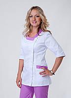"Медицинский костюм женский ""Health Life"" коттон 3217"