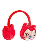 Шапка навушниками Киця