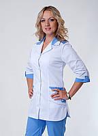"Медицинский костюм женский ""Health Life"" коттон 3218"