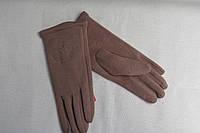 Перчатки теплые,стрейчевые,(с тонким мехом) р-ры 6,5- 8,5