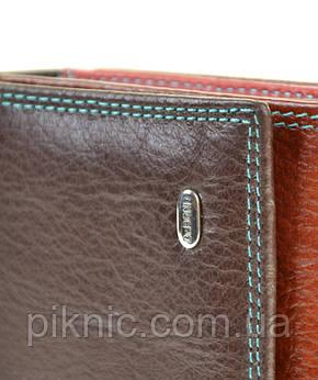 Женский кожаный кошелек Rainbow, клатч, портмоне Dr Bond. Из натуральной кожи. Коричневый, фото 2