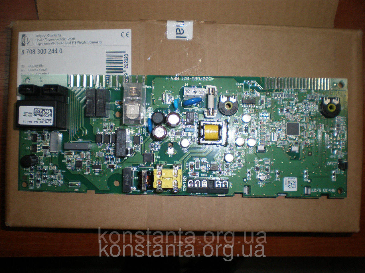 Плата управления для Junkers-Bosch ZW24-2DH KE/AE - Интернет-магазин KONSTANTA в Харькове