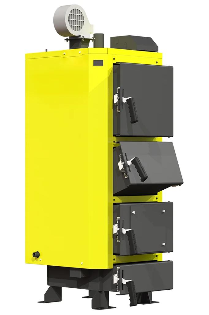 Промышленный котел Kronas UNIC-P 125 кВт с нагнетательной турбиной и автоматикой с функцией PID