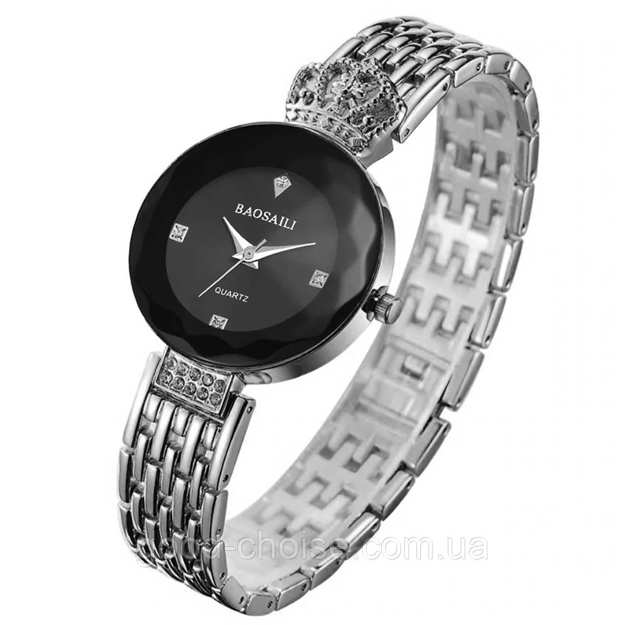 Женские часы Baosaili, Наручные часы, серебряные