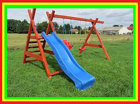 Детская площадка Дружба + горка спуск 2,5 м., фото 3