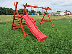 Дитячий майданчик Дружба + гірка спуск 2,5 м.