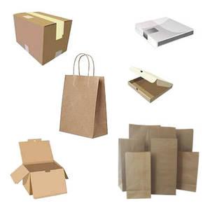 Бумажные пакеты и коробки