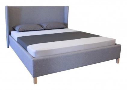 """Двуспальная кровать """"Келли""""  с подъемный механизмом от Мелби (разные размеры)"""