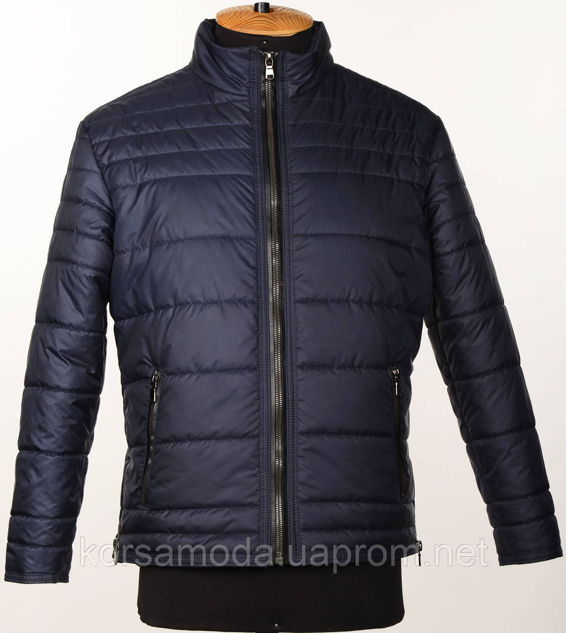 e4bae11f Мужская,демисезонная,стеганная куртка темно-синего цвета.Новинка!!! -