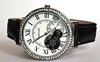 "Часы оптом женские ""открытый механизм"" серебро"