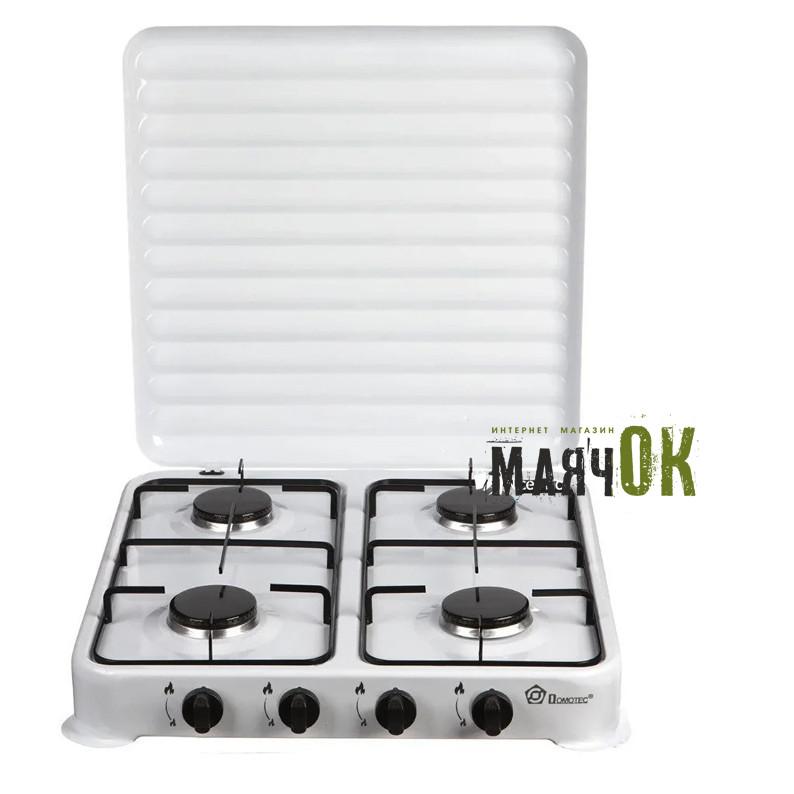 Газовая плита Domotec MS-6604, 4 конфорки
