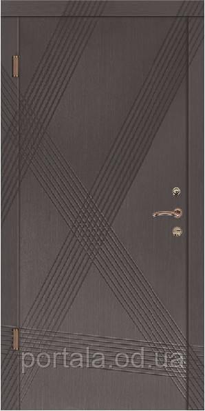 """Входная дверь """"Портала"""" (серия Комфорт) ― модель Диагональ"""