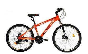 "Велосипед CROSSRIDE SKYLINE 24"" MTB ST Помаранчевий"