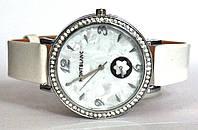 """Часы оптом женские """"цветок"""" серебро белый"""