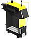 Твердотопливный котел на дровах и угле Kronas EKO Plus 24 кВт с автоматикой и вентилятором, фото 2