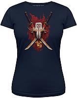 Футболка Valve Dota 2 I Bring My Blade Navy, Woman XL