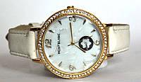 """Часы оптом женские """"цветок"""" золото белый"""