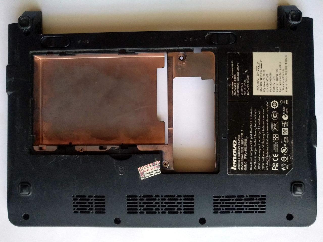 443 Корпус дно Lenovo S10 S9 S10-1 - 37FL1BC0060