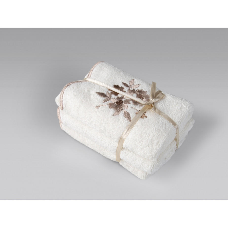 Полотенце Irya - Martil ekru молочный 70*140