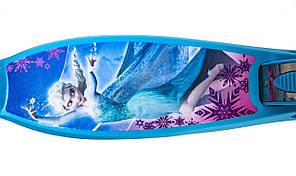 Самокат детский Disney (светящиеся колёса) Frozen Фроузен, фото 3