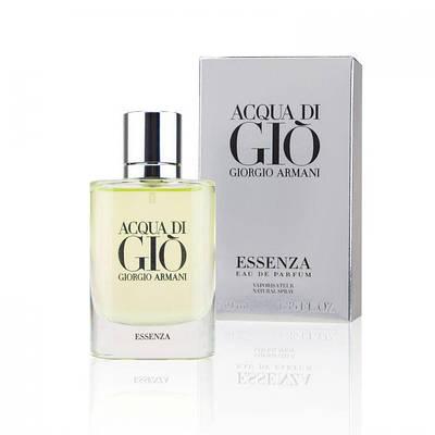 Мужской парфюм туалетная вода GIORGIO ARMANI Acqua di Gio Essenza 40ml, летний свежий древесный водяной аромат