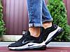Мужские кроссовки Nike 9746 черно белый