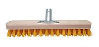 Щётка для чистки ковров (Основа Бук) с металлическим креплением Жёлтый 30см - Golwood, фото 1
