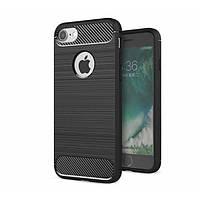 Чехол-накладка Half-TPU Black Case Apple iPhone 8