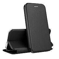 Чехол книжка для Xiaomi Mi 9 Lite (черный)