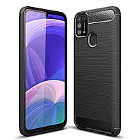 Чехол-накладка Half-TPU Black Case Samsung Galaxy A31